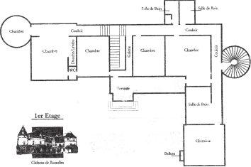 Plattegrond 1e etage