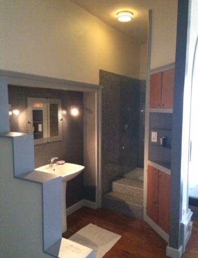 Badkamer bij slaapkamers 1, 2 en 3