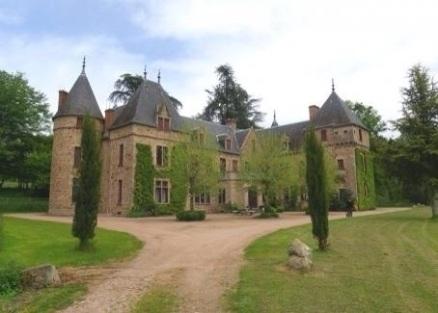 Het château vooraanzicht