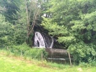 Waterval bij Moulin de Bussolles