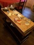 Kaastafel bij Restaurant Bourbonaisse