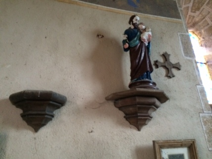 Jozefbeeld in Chapelle de Bussolles